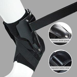 Image 1 - 1 Pc Sport Enkel Ondersteuning Brace Elastische Fitness Enkel Strap Stabilizer Bandage Retainer Voor Voet Orthese Verstuikingen Spalk Protector
