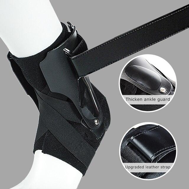 1 Pc Sport Enkel Ondersteuning Brace Elastische Fitness Enkel Strap Stabilizer Bandage Retainer Voor Voet Orthese Verstuikingen Spalk Protector