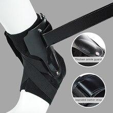 1 adet spor ayak bileği desteği elastik spor ayak bileği kayışı sabitleyici bandaj tutucu ayak ortezi burkulma atel koruyucu