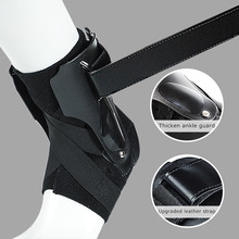 1PC Sport Ankle Support Brace Elastic Fitness Ankle Strap Stabilizer Bandage Retainer for Foot Orthosis Sprains Splint Protector