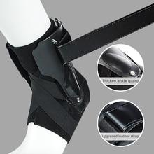 1PC Sport kostki wsparcie Brace elastyczny Fitness kostki pasek stabilizator bandaż ustalający dla orteza na stopę skręcenia szyna Protector