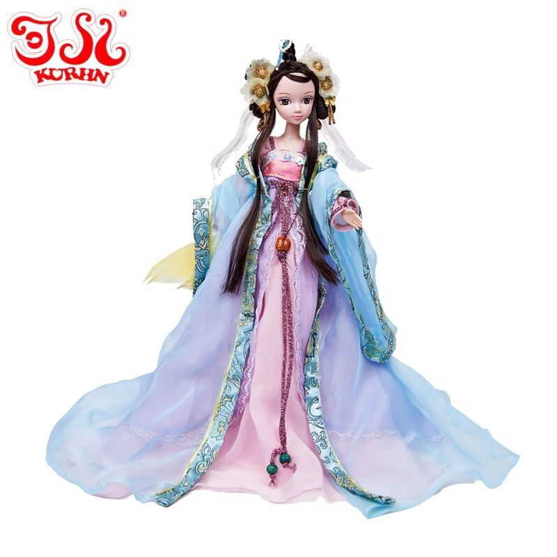D0626 In box Best children girl gift 30cm Kurhn Chinese Doll Chinese myth Gift Traditional toy wencheng princess d0372 best girl gift 50cm kurhn princess doll with large wedding dress gift luxury dress set handemade romantic bride 06