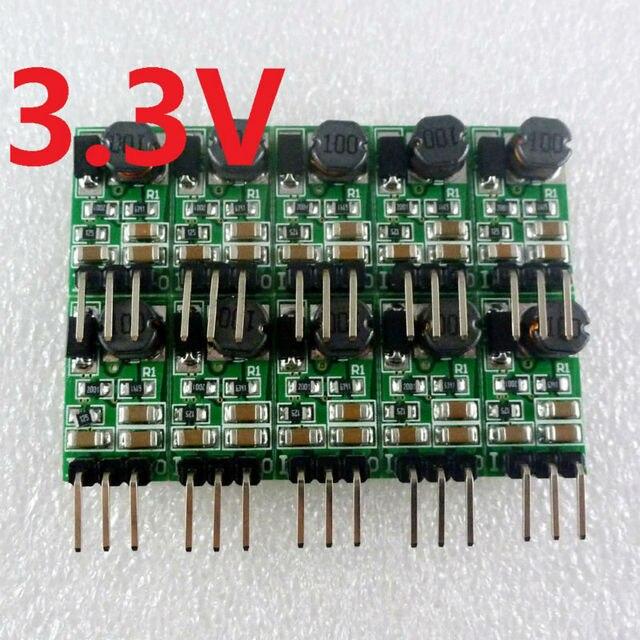 Dd4012sa_3v3 * 10 pces dc step down buck converter 5 40 v a 3.3 v módulo regulador de tensão para pro mini tábua de pão