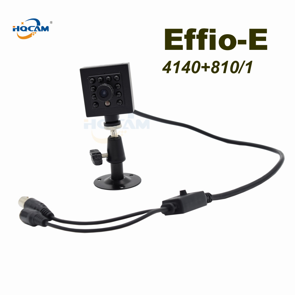 Surveillance Cameras Hqcam Effio-e Sony Ccd 700tvl Wdr 0.01lux 10pcs 940nm Ir Led Security Indoor Mini Ccd Camera Ir Night Vision Camera Vehicle Car Relieving Heat And Thirst. Video Surveillance