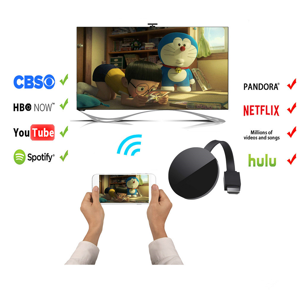 Miracast G5/G2 Wifi Display Dongle Receiver Full 1080p HDMI Miracast AirPlay for TV Dongle Receiver