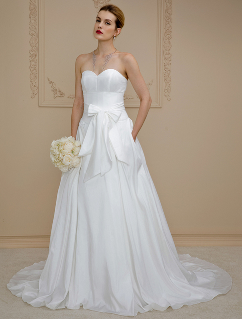 LAN TING BRIDE Ball Gown Wedding Dress Sweetheart Cathedral Train ...