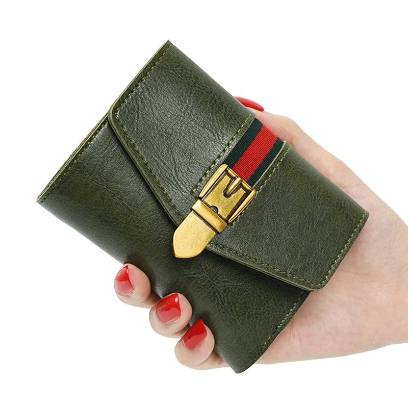 Retro Portemonnee Dames.Onlvan Portemonnee Dames Kort Pu Leder Vintage Kaart Pakket