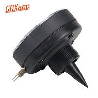 Ghxamp 25.5mm Tweeter Horn Drive Head 80 Magnetic Professional Stage Treble Speaker DIY Screw on High Sensitivity 98dB 80W 8OHM