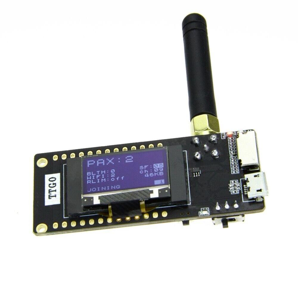 TTGO LoRa32 V2.1 _ 1,6 version 868/915 mhz ESP32 LoRa OLED 0,96 zoll SD Karte ESP-32 SMA Bluetooth WIFI wireless Modul