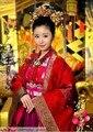 Calidad superior de china antigua emperatriz Tiaras del pelo femenino accesorio del traje TV jugar hermosa emperatriz Lin Xin Ru pelo de la corona