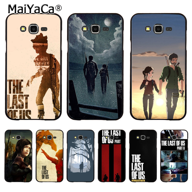 MaiYaCa The Last Of Us game Video games Painted cover Style Design Cell Phone Case for Samsung J1 J3 J5 J7 Note 3 Note 4 Note 5