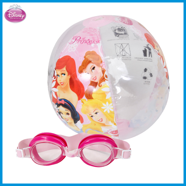 11e9a8d55a0 Hot Sale Professional Disney Princess Girls Waterproof Swimming Glasses  Swimming Goggles set With PVC Water Ball Set DEY02036-D