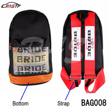 RASTP Free Shipping  New Style JDM Racing Fabric Backpack Special Design Sport School styling bag RS-BAG008