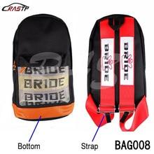 RASTP Бесплатная доставка Новый стиль JDM Гонки Ткань Рюкзак специальный дизайн Спорт школьный стиль сумка RS-BAG008