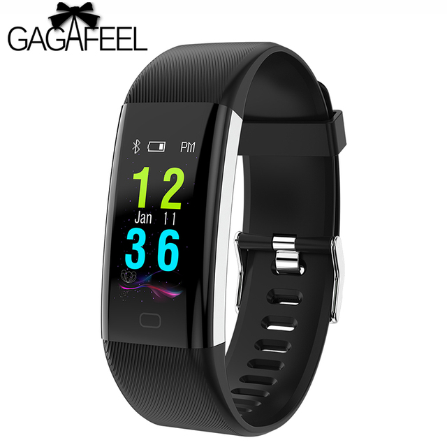 Gagafeel F07 Plus Bluetooth Smart Watch OLED Color Screen Smart Bracelet IP68 Wa