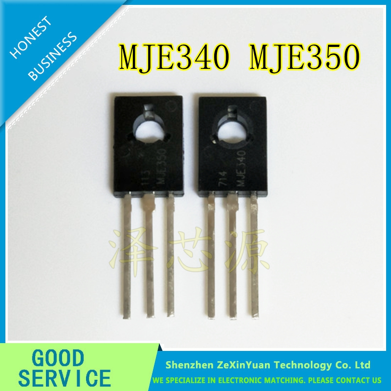 100PCS MJE340 MJE350 ( 50PCS MJE340 + 50PCS MJE350 )TO-126 IC Best Quality.