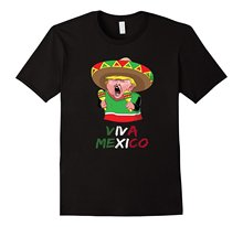 Summer Sleeves Fashion Free Shipping Donald Trump The Mexican Funny T-shirt Viva Mexico Printed T Shirt 2017 Fashion Brand