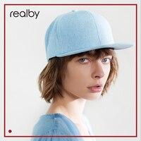 REALBY Hip Hop Cap Cowboy hat Women Cap Fashion Korean Street Cap Men Visor KR08