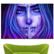 Enigmatic Horrifying Halloween Themed DIY Diamond Painting