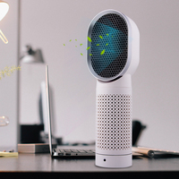 Wholesale Portable Small Air Cleaner Ozone Generator Best Home Desktop USB Personal Air Purifier with Hepa Filter