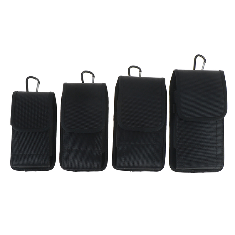 Mobile <font><b>Phone</b></font> Waist Bag 3.5-6.3 Inch For Iphone For Xiaomi Huawei Hook <font><b>Loop</b></font> Holster Pouch Belt Waist Bag Cover <font><b>Case</b></font> image