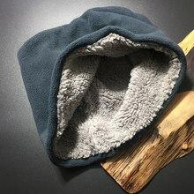 Зимние шарфы для сноуборда, термостойкие гетры для шеи, Теплые внутренние меховые воротники, шарф, теплые мужские вязаные кольца, мужские гетры для шеи