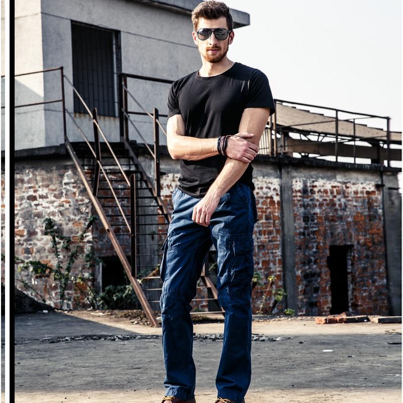падіння вантажні штани чоловічі - Чоловічий одяг - фото 6