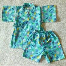 Children's pajamas kimono Cotton robe child Pajama Set Kids Boy And Girl lounge Clothing underwear kimono sleepwear