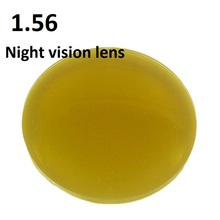 1.56  polarized Night vision lenses sunglasses anti glare driver prescription optical myopia reading glasses