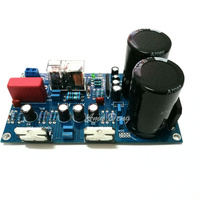 Free Shipping TDA7294 BTL Fever 170W Mono Amplifier Board With Speaker Protection Board Finished Sound Excellent