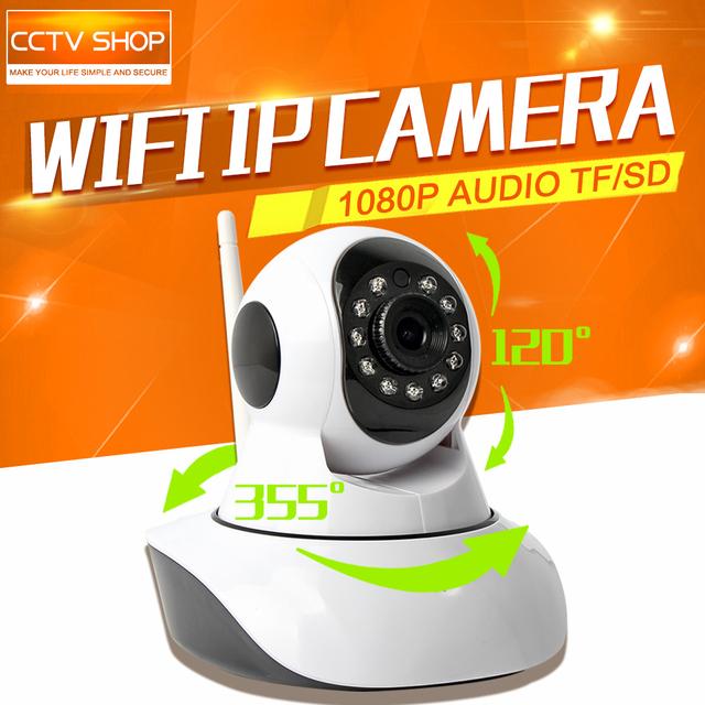 2MP HD 1080 P Câmera IP IR Night Vision PTZ Wi-fi Inteligente Home Baby Monitor de Vigilância CCTV Câmeras de Segurança Onvif P2P Visão APLICATIVO