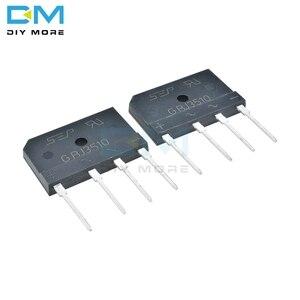 5PCS lot Original GBJ3510 1000V 35A Diode Bridge Rectifier Single Phase Bridge Rectifier Diy Electronic Through Hole Diymore