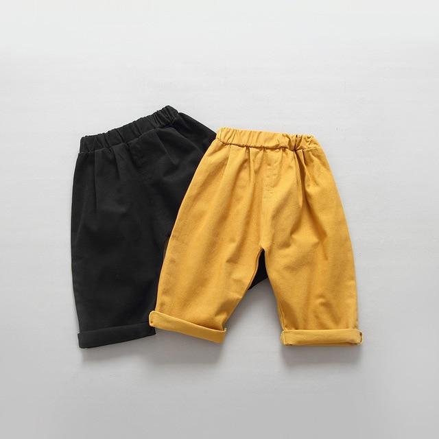 Children 's Trousers Boys and Girls Korean Loose Haunen Pants 2016 Autumn Baby Wide Leg Pants for 2-6T