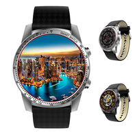 Kingwear KW99 3G Smartwatch Phone Android 5 1 MTK6580 Quad Core 8GB ROM Heart Rate Monitor
