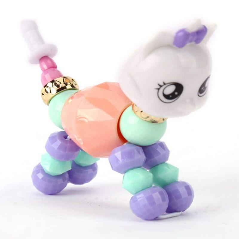 Children's Personalized Animal Styling Bracelet Can Be Worn To Assemble Cute Cartoon Animal Bracelet Hand Chain