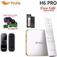 Zidoo H6 PRO Android 7 0 TV Box 4K 10Bit HDR Allwinner H6 DDR4 2GB EMMC