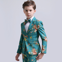 Boys suits for weddings dress formal costume enfant garcon mariage children school uniform boys blazer suits set pageant dress
