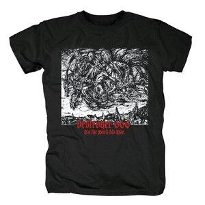 Image 4 - Bloodhoof destroyer666 残忍なデスメタルスラッシュメタル黒綿 tシャツアジアンサイズ