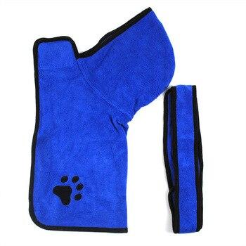 Peignoir bleu
