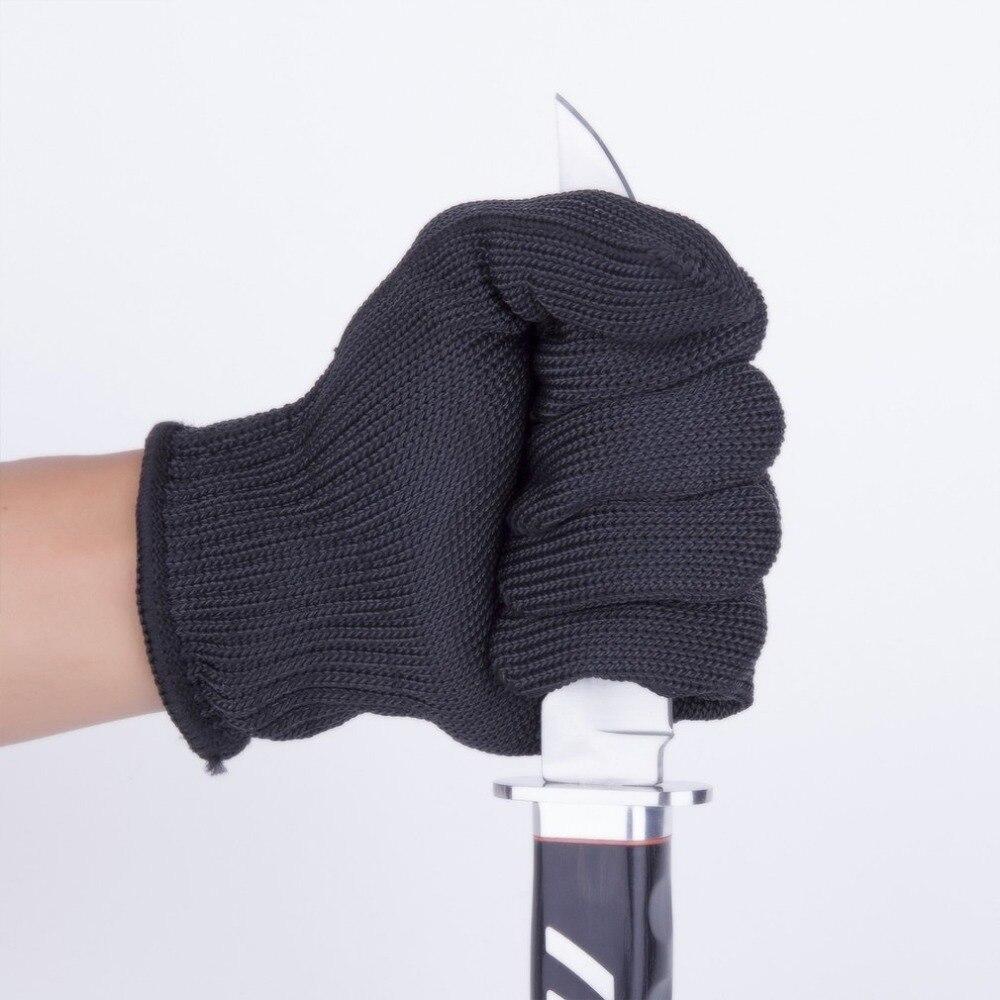 1 Paar Professionelle Cut Beständig Handschuhe Edelstahl Draht Handschuhe Level 5 Schutz Multifunktions Sicherheit Arbeit Handschuhe