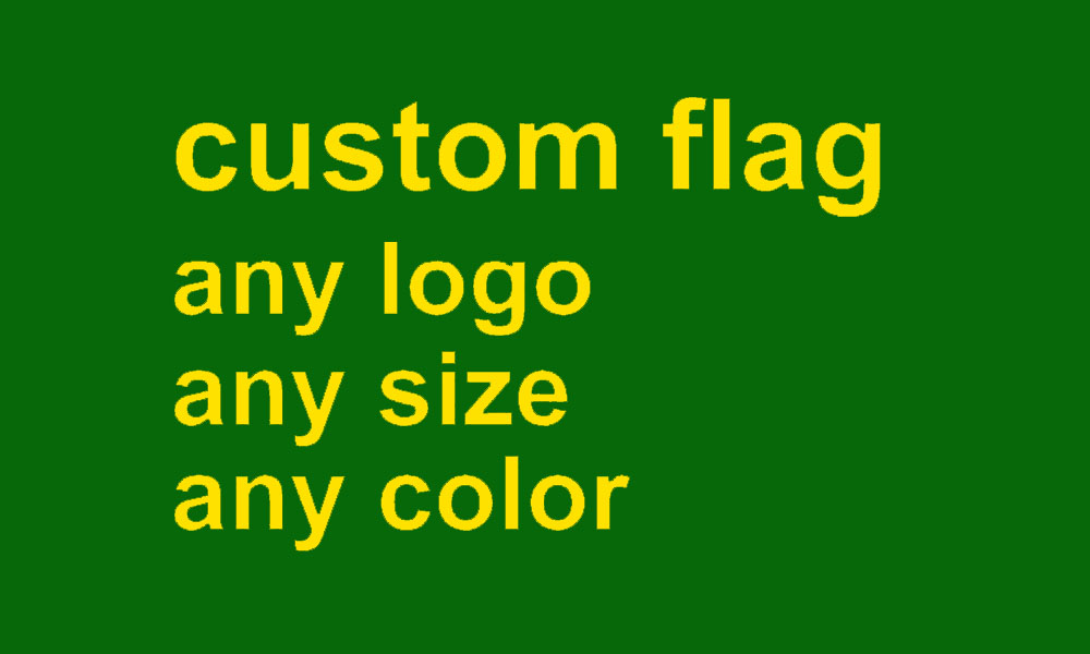 custom flag any size company advertisement flags and banners 2x3 FT, free shipping