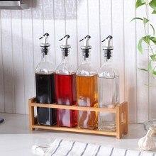Il-free стеклянная бутыль для масла и бутылка для приправ в домашней кухне