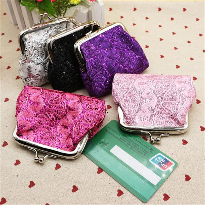 Ulrica 2016 Hot Sale Women Ladies Small Sequin Wallet Card Holder Coin Purse Fashion Party Clutch Girls Handbag Bag Freeshipping  hot sale 2016 new fashion women girls winter warm wallet high quality tote bag card pack small hairy bag handbag