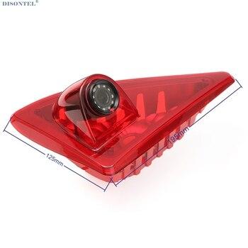 르노/마스터에 대 한 hd 자동차 브레이크 라이트 후면보기 카메라 내장 10 pcs ir led 빛 12 v 4.3
