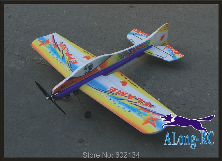 EPP PLANE  RC 3D airplane/RC MODEL HOBBY TOYS  wingspan 1000mm Flame 3D EPP plane PNP SET(NO RADIO/ BATTERY/CHAREGER)