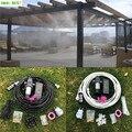 S033 12 V Pompa Elettrica A Membrana Acqua Nebulizzata Kit Portatile di Nebulizzazione di Acqua Automatico Pompa di 12 M Di Nebbia Sistema Di Raffreddamento Per serra