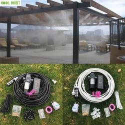 S033 12V Waternevel Elektrische Membraanpomp Kit Draagbare Verneveling Automatische Waterpomp 12M Verneveling Cooling Systeem Voor kas