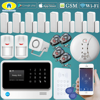 Golden Security G90B Plus WIFI GSM RFID Wireless Alarm System for Home Security Alarm Kit IP Camera,Support CID Protocol