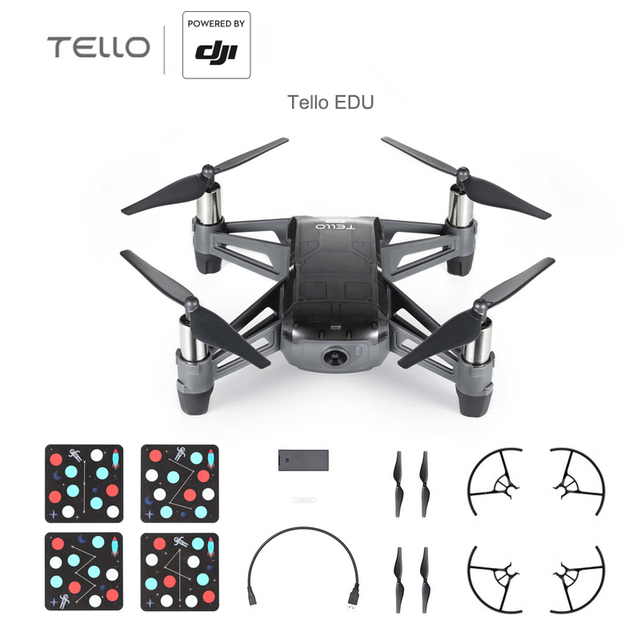DJI Tello EDU / Tello Boost Combo Mini drone Perform flying stunts record quick videos