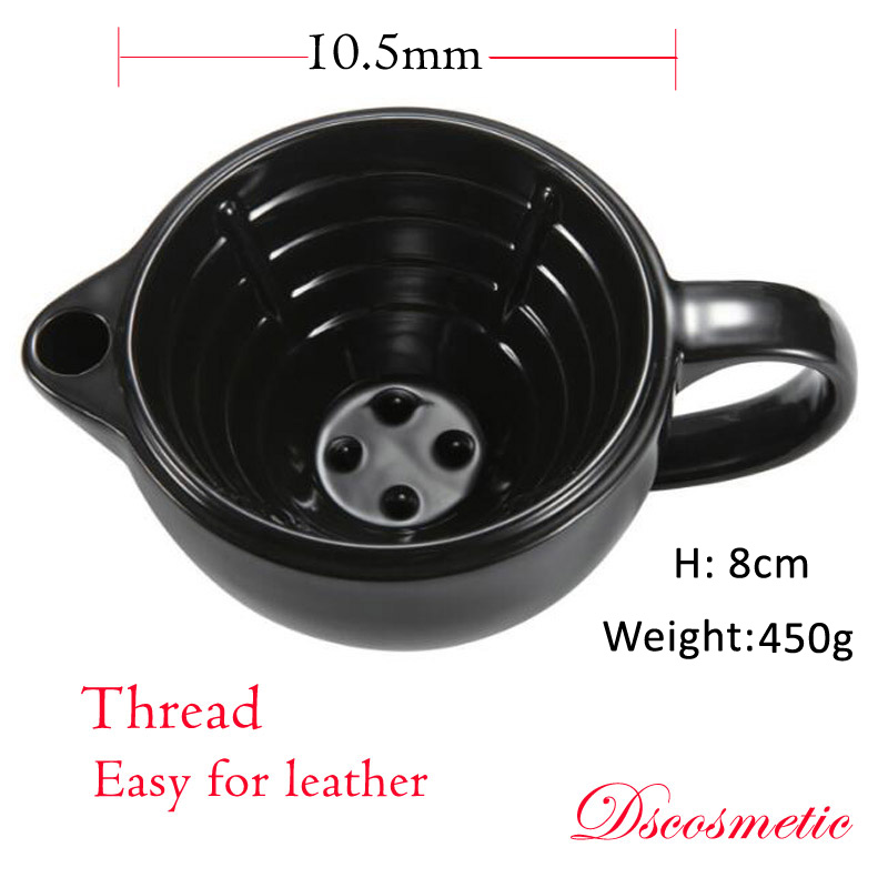 Ds Ceramic Shaving Scuttle Mug Filled Hot Water  Keep Lather Always Warm Large Size Bowl Handmade Pottery Cup Wet Shaving Tool